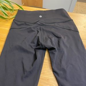 7/8 length lululemon yoga pants
